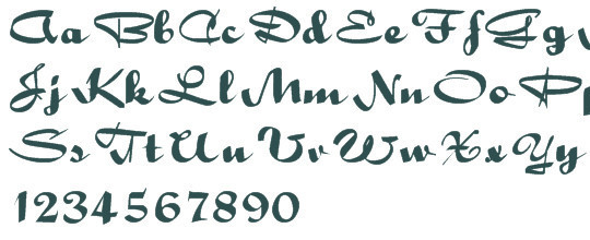 10 High Quality Free Ribbon Fonts 5