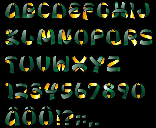 10 High Quality Free Ribbon Fonts 9