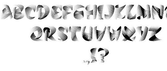 10 High Quality Free Ribbon Fonts 10