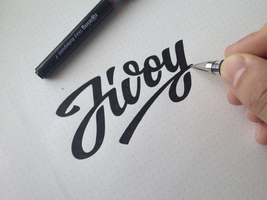Creative Examples Of Logo Brand Identity Sketching 18