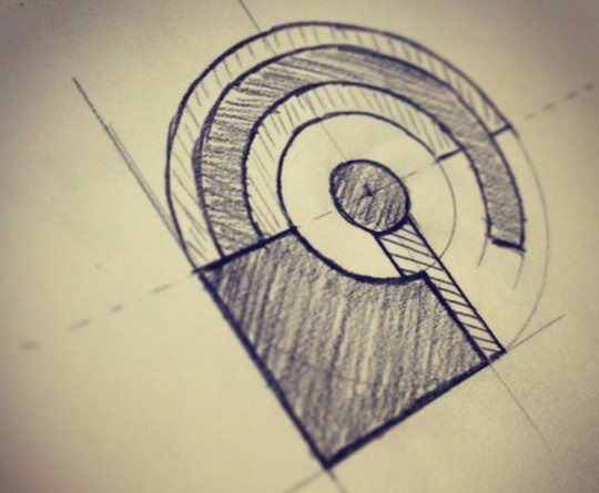 Creative Examples Of Logo Brand Identity Sketching 6