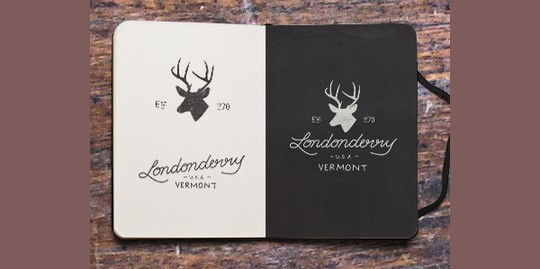 Creative Examples Of Logo Brand Identity Sketching 26