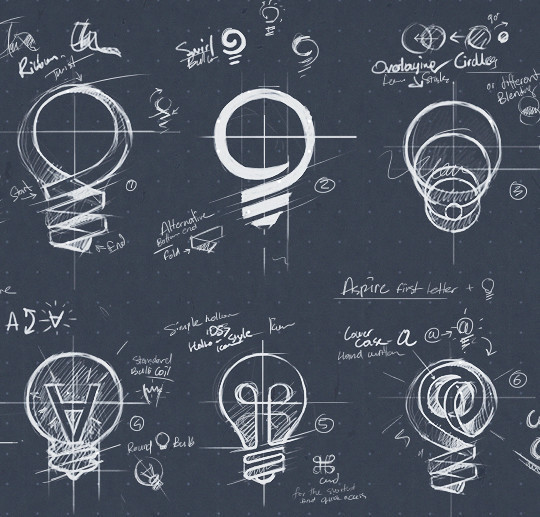 Creative Examples Of Logo Brand Identity Sketching 27