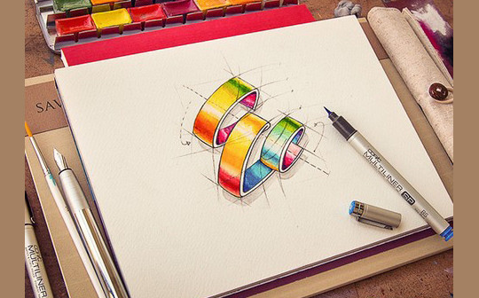 Creative Examples Of Logo Brand Identity Sketching 31
