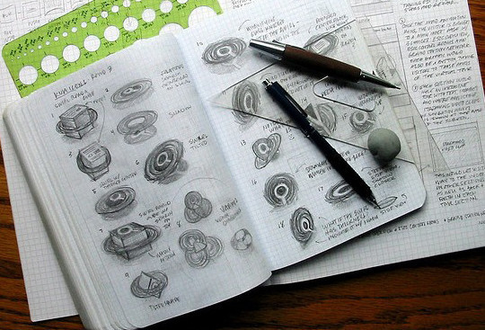 Creative Examples Of Logo Brand Identity Sketching 5