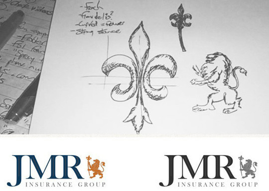 Creative Examples Of Logo Brand Identity Sketching 41