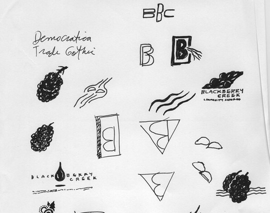 Creative Examples Of Logo Brand Identity Sketching 34