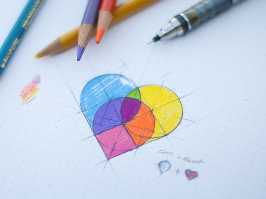 Creative Examples Of Logo Brand Identity Sketching 8