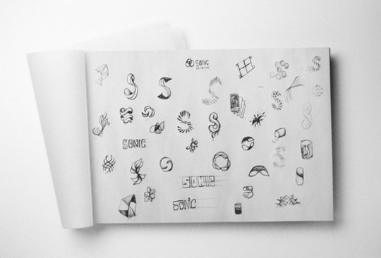 Creative Examples Of Logo Brand Identity Sketching 11