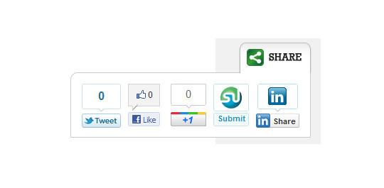 12 Best Free Social Sharing Plugins for WordPress 13