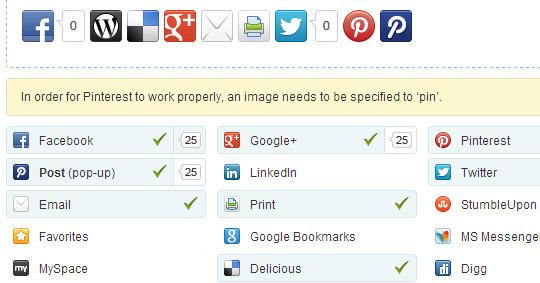 12 Best Free Social Sharing Plugins for WordPress 7