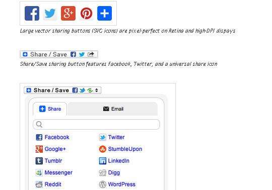12 Best Free Social Sharing Plugins for WordPress 11