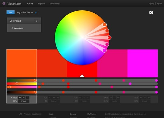 Excellent Collection Of Web Color Picking, Palettes & Scheme Generating Tools For Designers 2