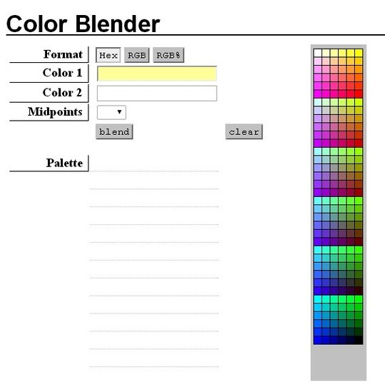 Excellent Collection Of Web Color Picking, Palettes & Scheme Generating Tools For Designers 14