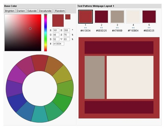 Excellent Collection Of Web Color Picking, Palettes & Scheme Generating Tools For Designers 17