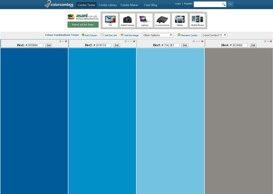 Excellent Collection Of Web Color Picking, Palettes & Scheme Generating Tools For Designers 20