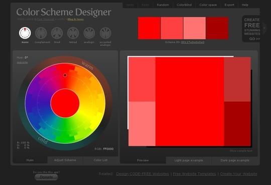 Excellent Collection Of Web Color Picking, Palettes & Scheme Generating Tools For Designers 3