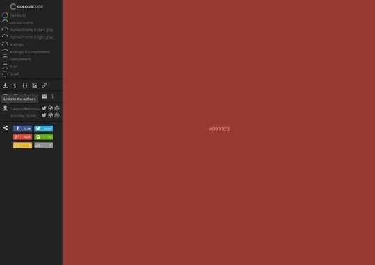Excellent Collection Of Web Color Picking, Palettes & Scheme Generating Tools For Designers 25