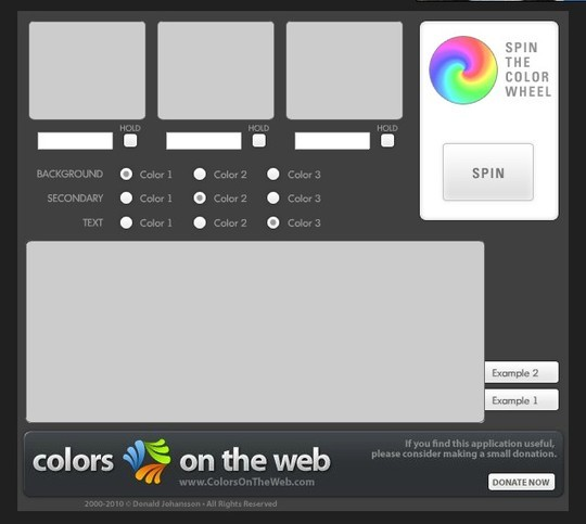 Excellent Collection Of Web Color Picking, Palettes & Scheme Generating Tools For Designers 28