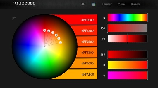 Excellent Collection Of Web Color Picking, Palettes & Scheme Generating Tools For Designers 230