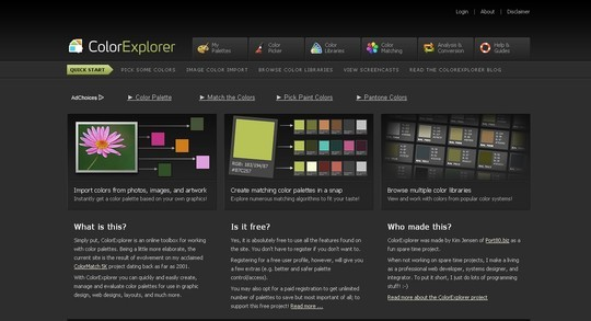 Excellent Collection Of Web Color Picking, Palettes & Scheme Generating Tools For Designers 9