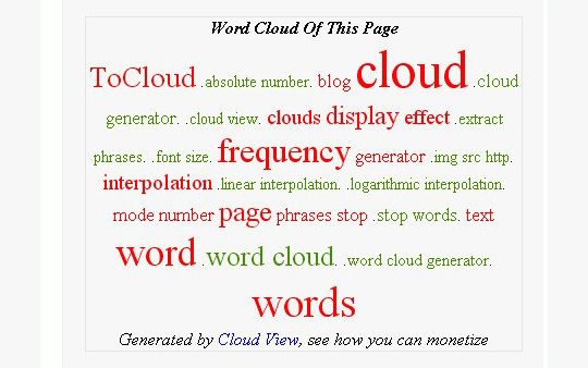 9 Interesting Word Cloud Generators 9