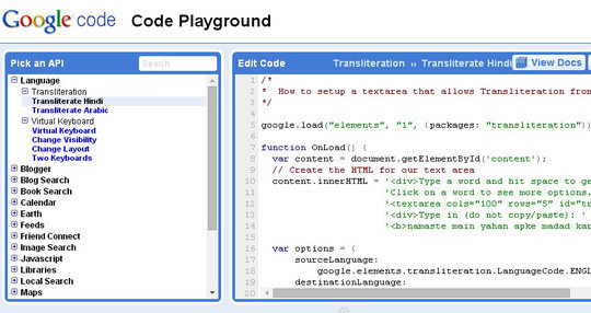 10 Code Playgrounds for Developers 6