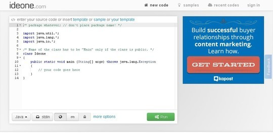 10 Code Playgrounds for Developers 9