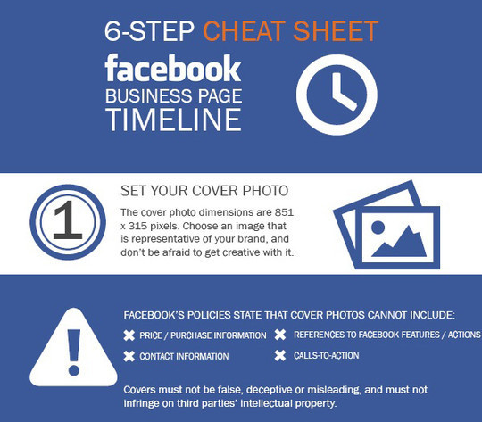 12 Facebook Cheat Sheets And Infographics 10
