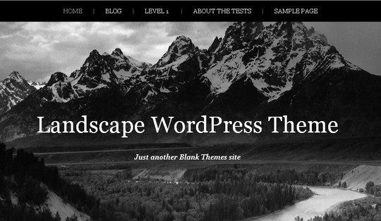 40 Clean and Simple Free WordPress Themes 19