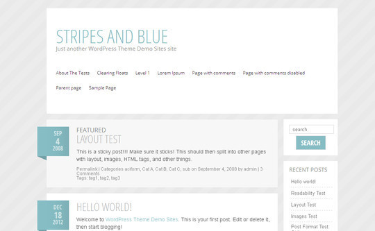 40 Clean and Simple Free WordPress Themes 24