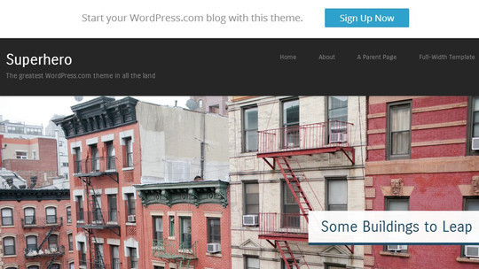 40 Clean and Simple Free WordPress Themes 27