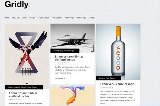 40 Clean and Simple Free WordPress Themes 29