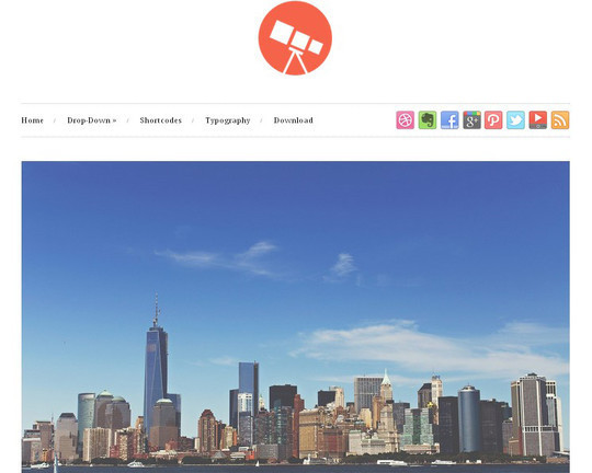 40 Clean and Simple Free WordPress Themes 31