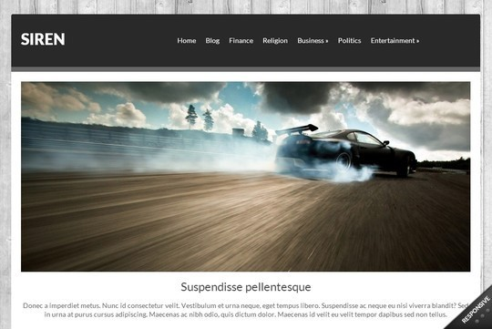 40 Clean and Simple Free WordPress Themes 5