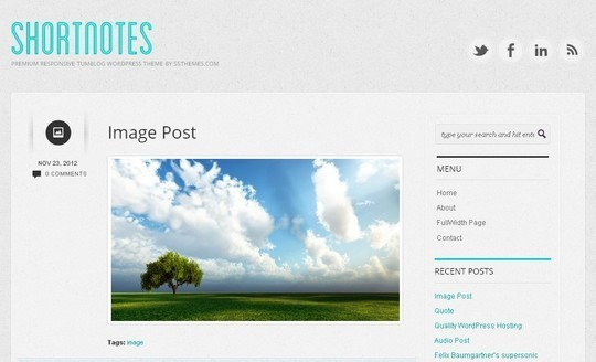 40 Clean and Simple Free WordPress Themes 35