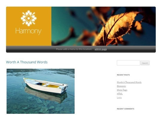 40 Clean and Simple Free WordPress Themes 37