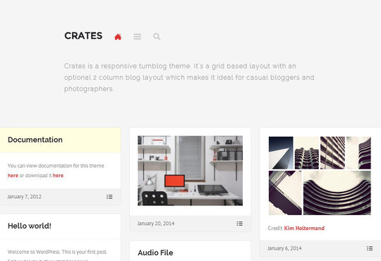 40 Clean and Simple Free WordPress Themes 38