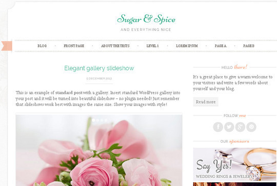 40 Clean and Simple Free WordPress Themes 39