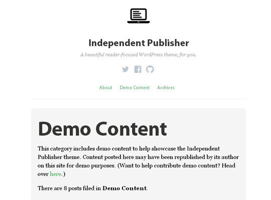 40 Clean and Simple Free WordPress Themes 9