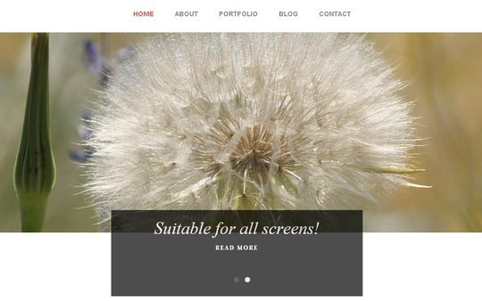 40 Clean and Simple Free WordPress Themes 13