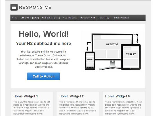 40 Clean and Simple Free WordPress Themes 15
