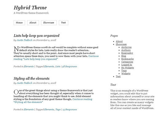 40 Clean and Simple Free WordPress Themes 16
