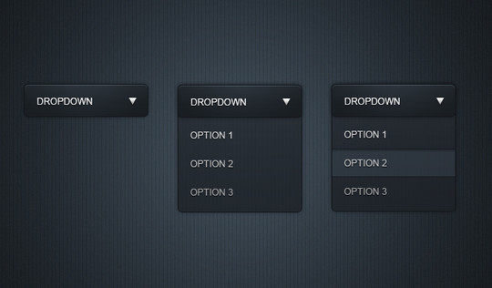 37 Free Combo Box And Drop-down List Photoshop Files 4
