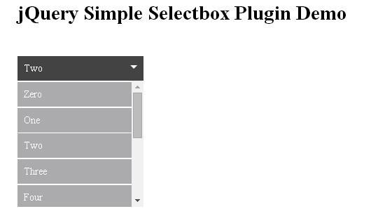 15 jQuery Dropdown/Select Box Plugins & Tutorials 13