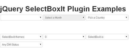 15 jQuery Dropdown/Select Box Plugins & Tutorials 14