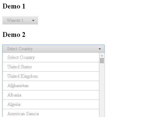 15 jQuery Dropdown/Select Box Plugins & Tutorials 16
