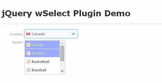 15 jQuery Dropdown/Select Box Plugins & Tutorials 4