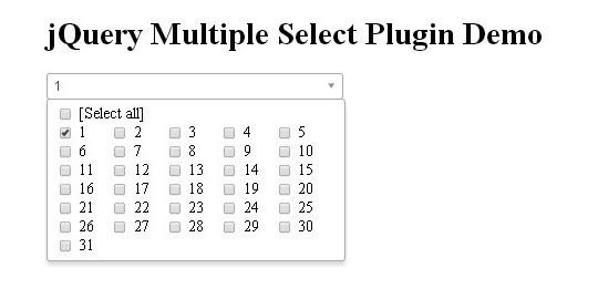 15 jQuery Dropdown/Select Box Plugins & Tutorials 9