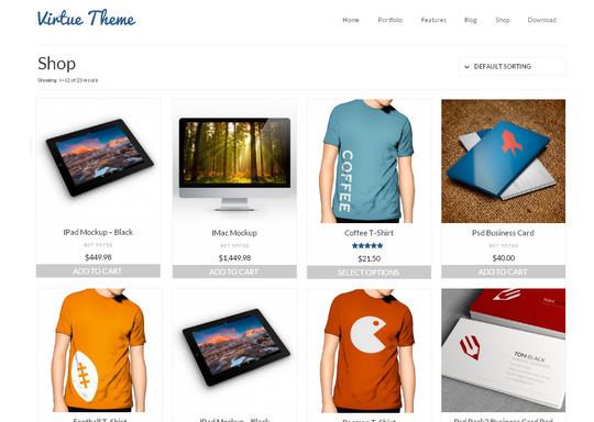 10 WordPress FREE Themes To Start Your Own eStore 2